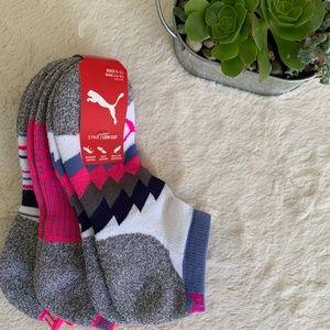 Puma 3 pack socks, NWT